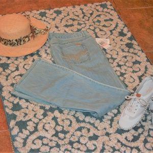 Michael Kors bleach wash jeans